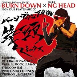 "画像1: 100% DUB PLATES MIX CD ""BURN DOWN STYLE"" 【-筆頭 MIX-】"